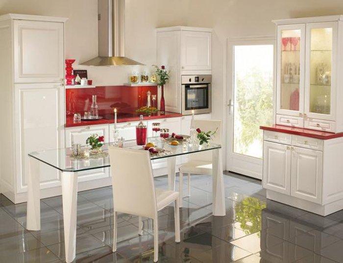 Consejos para elegir la mesa de la cocina decoraci n del - Cocinas pequenas con mesa ...