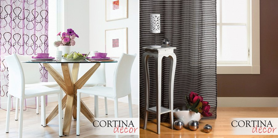 Cortinas de tela fabricadas a medida decoraci n del hogar for Telas cortinas salon diseno