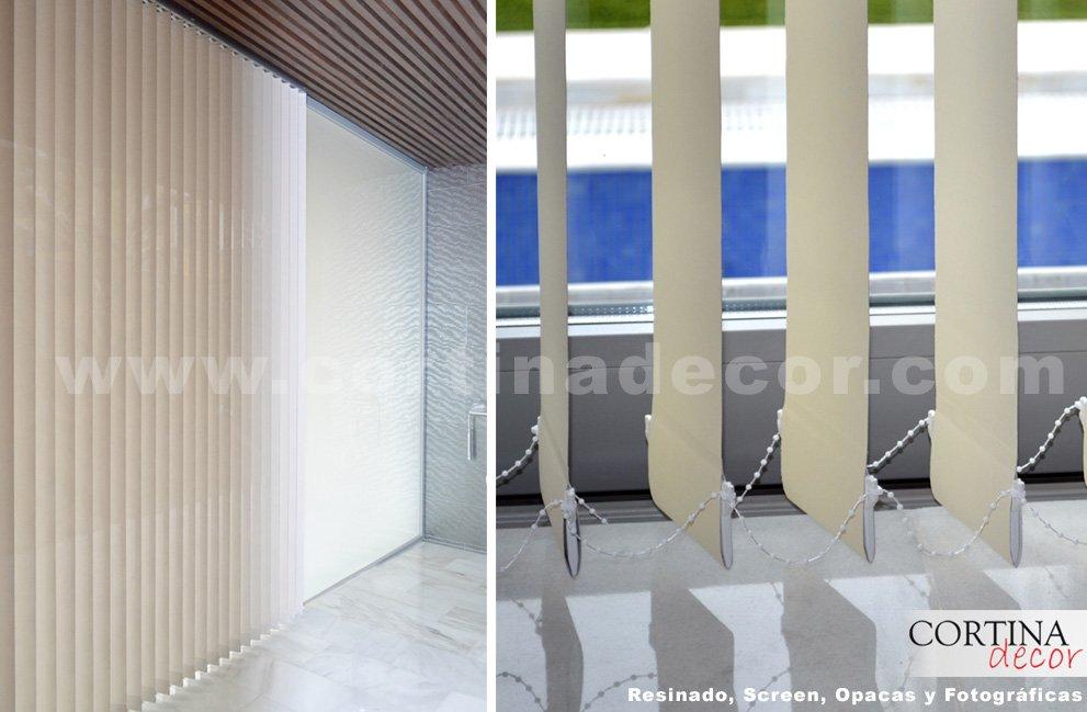 Cortinas verticales en cortinadecor decoraci n del hogar - Cortinas venecianas verticales ...