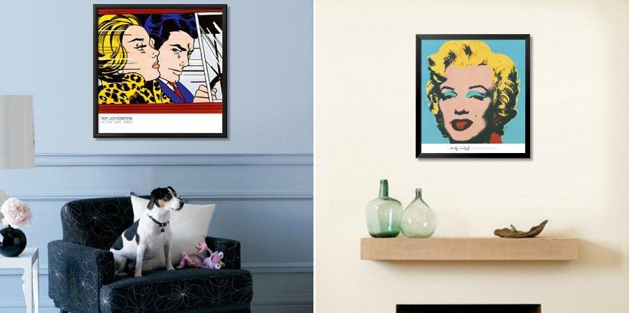 Cuadros pop art en nuestro hogar decoraci n del hogar for Muebles pop art