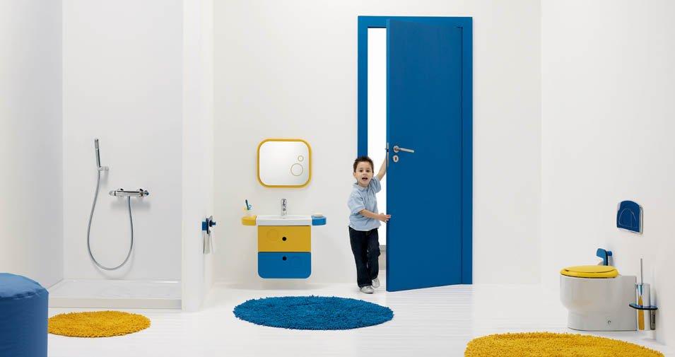 Baños Infantiles Diseno:Cuarto de baño infantil de Sanindusa Decoración del hogar