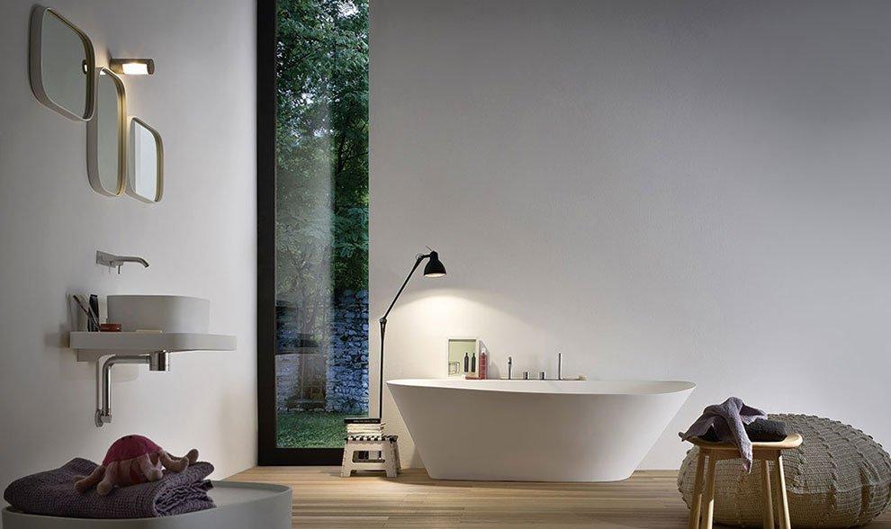 Cuartos de baño modernos Rexa. Decoración del hogar.