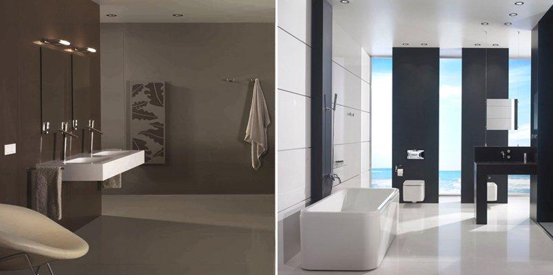 Diseños de cuartos de baño Silestone. Decoración del hogar.