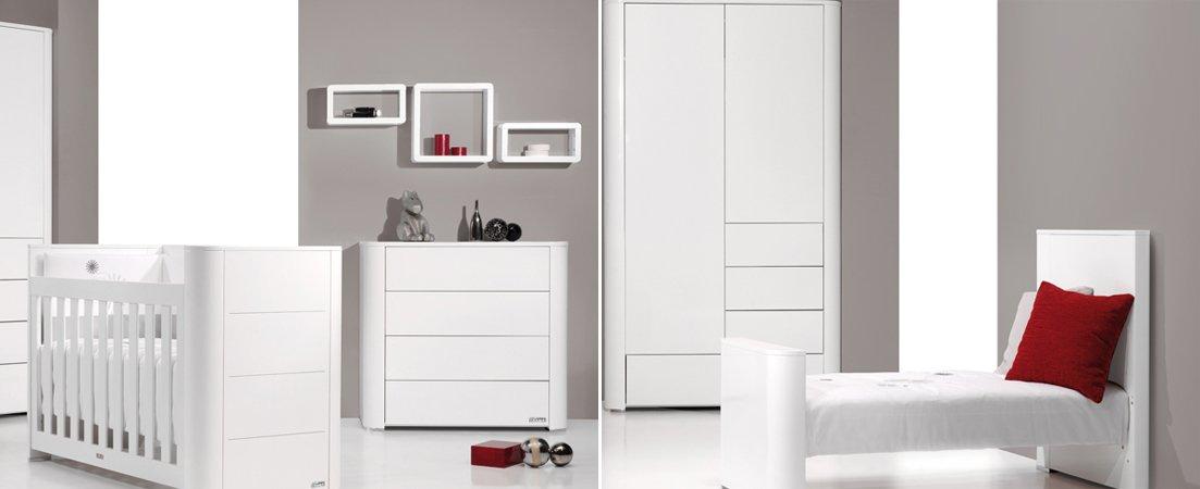 Serie Arc, mobiliario de bebés de la firma Trama. Decoración del hogar.