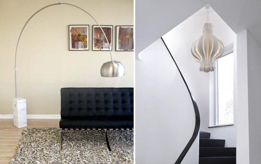 Ideas para una decoraci n retro al estilo de los a os 60 for Decoracion de lamparas