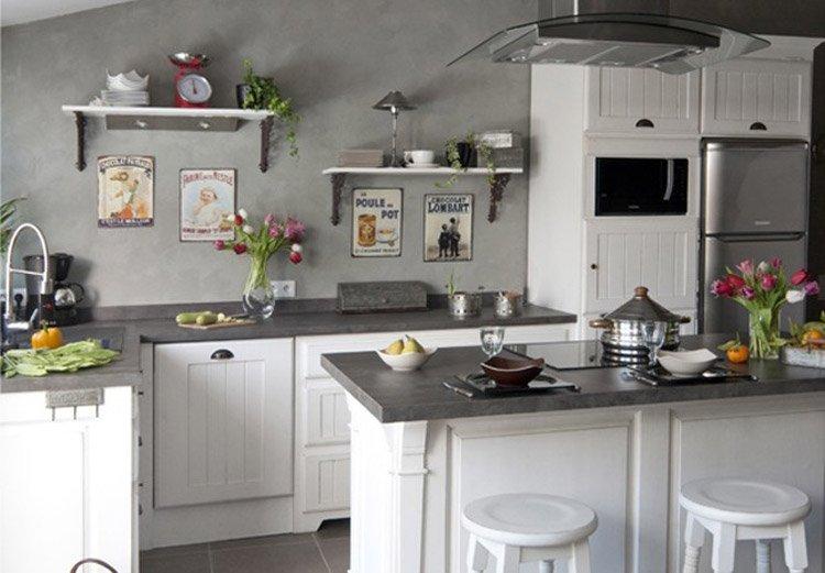 Decoración de cocinas tradicionales. Decoración del hogar.
