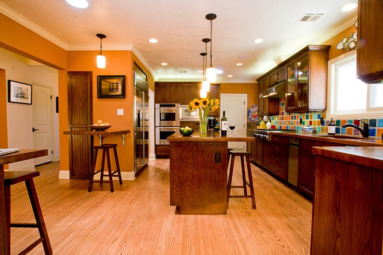 Burnt Orange Kitchen Designs