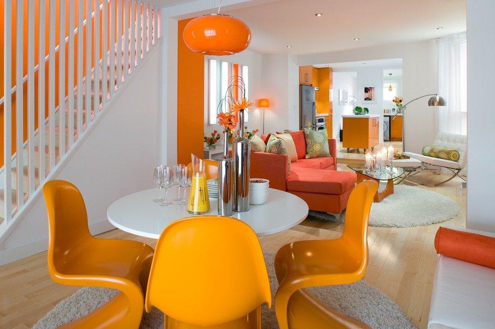 Estimula tu decoraci n con el color naranja decoraci n for Decoracion hogar naranja