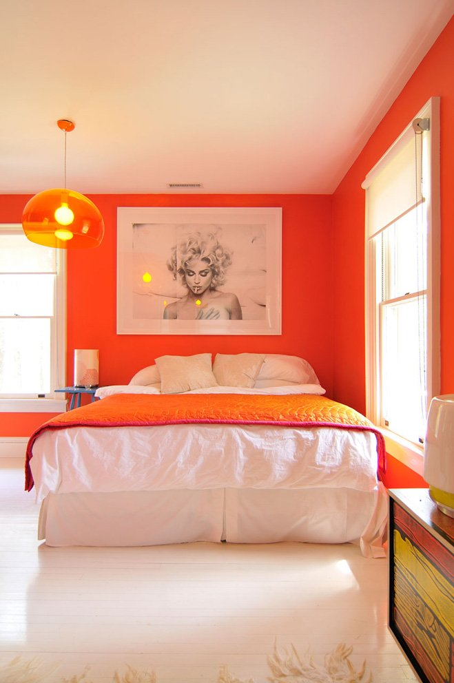 light orange bedroom walls estimula tu decoraci 243 n con el color naranja decoraci 243 n 15853