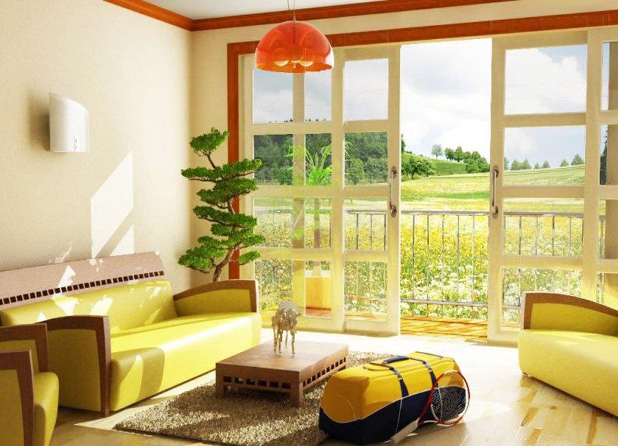 Decoraci 243 N Con Colores Amarillos Decoraci 243 N Del Hogar