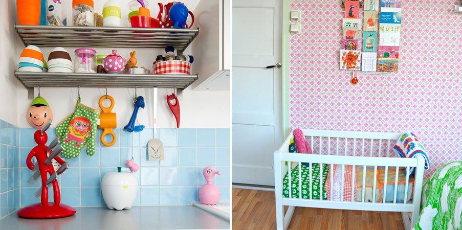 Inspiraci n para una casa colorida de estilo informal for Casa hogar decoracion