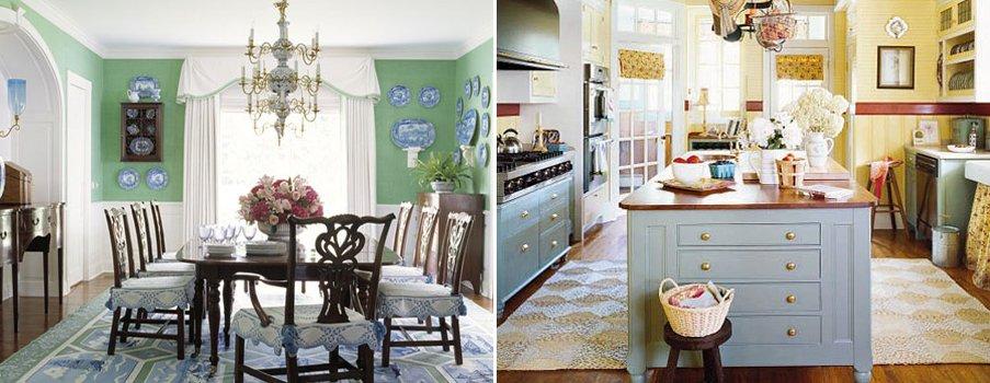 Claves del estilo cottage decoraci n del hogar - Decoracion de salones estilo romantico ...