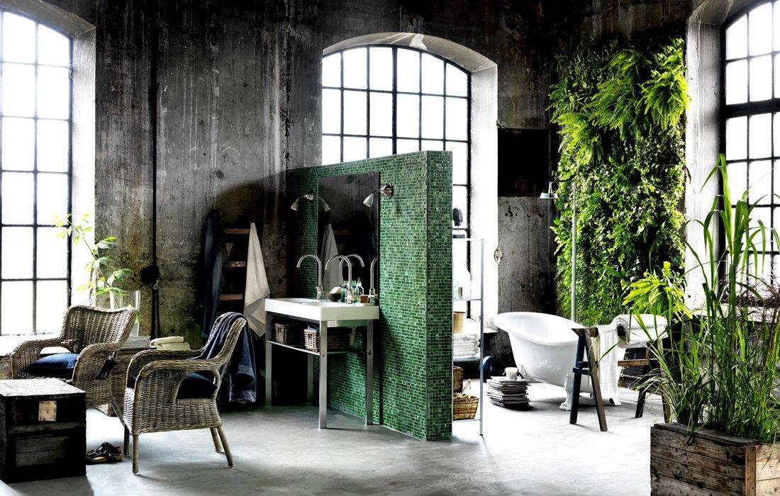Decorar el cuarto de ba o con plantas decoraci n del hogar for Decoracion del hogar con plantas