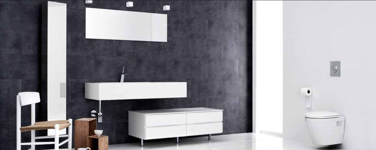 Cuartos de baño Mano de la firma Kvik. Decoración del hogar.