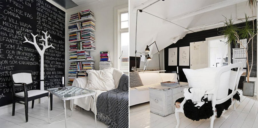 Ideas Para Una Decoraci N En Blanco Y Negro Decoraci N
