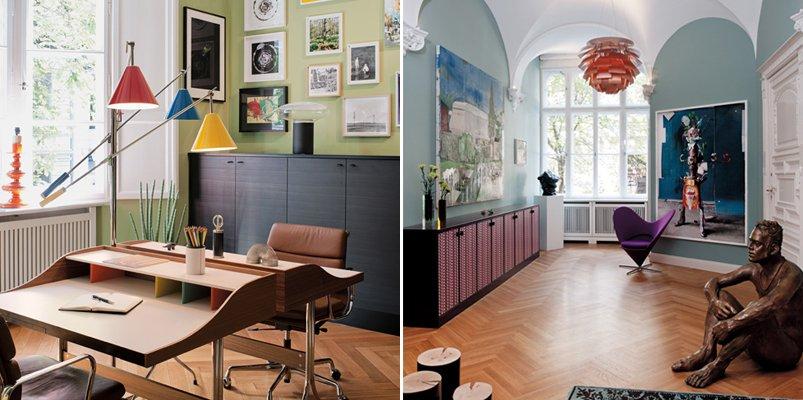 Perfecta combinaci n de estilo cl sico y contempor neo Decoracion contemporanea de interiores