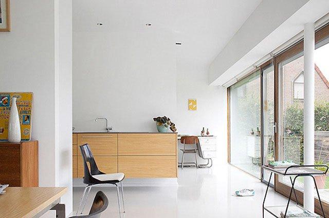 Decoraci n minimalista basada en el blanco decoraci n del for Decoracion casa minimalista
