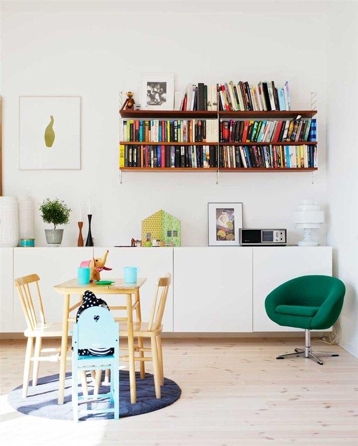 Decoraci n n rdica de toques retro decoraci n del hogar - La casa sueca decoracion ...