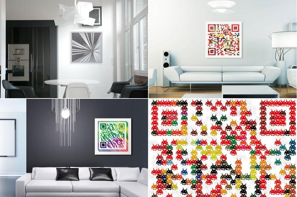Cuadros qrious cuadros con mensaje decoraci n del hogar for Decoracion de paredes con cuadros