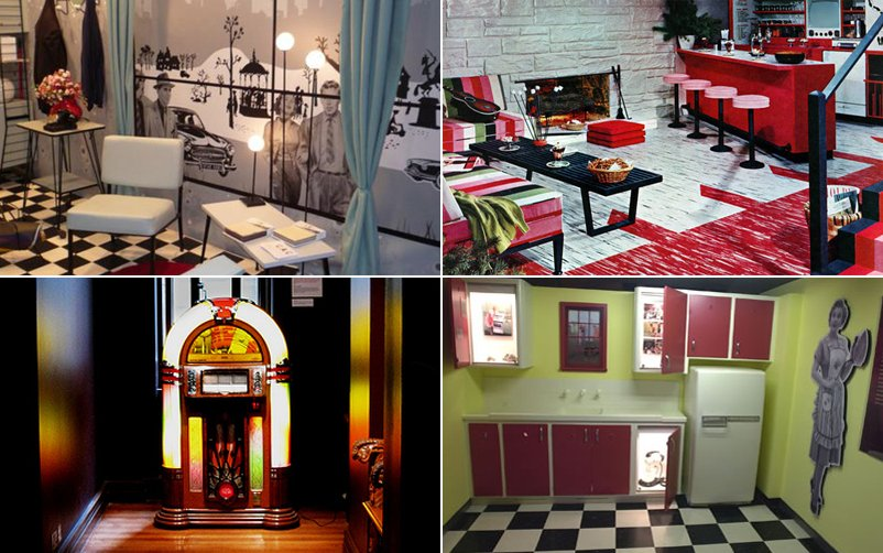 Ideas para conseguir una decoraci n retro decoraci n del for Cocinas vintage anos 50