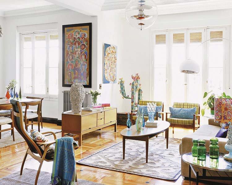 Decoraci n retro con toques modernos decoraci n del hogar for Decoracion vintage retro