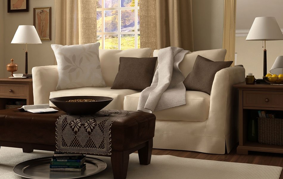 Consejos para una decoraci n en tonos beige decoraci n - Combinar colores para salon ...