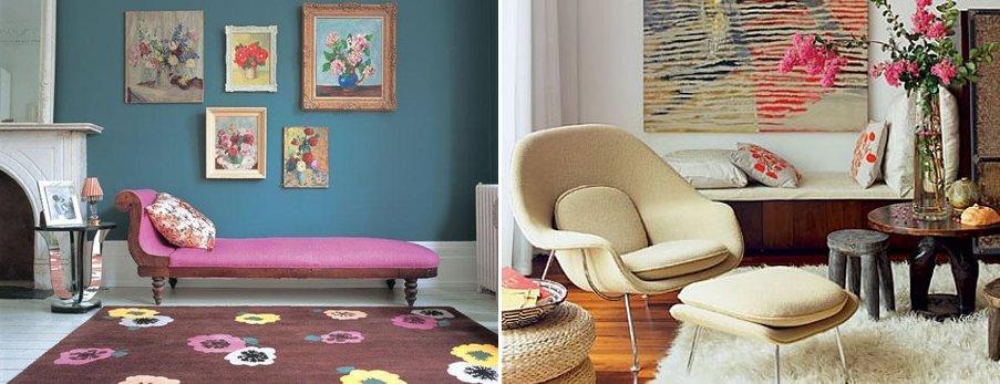 Alfombras el accesorio de moda decoraci n del hogar for Decoracion con alfombras