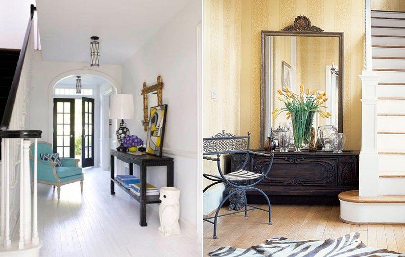 Consejos para decorar el recibidor de casa decoraci n del for Espejos para entrada de casa