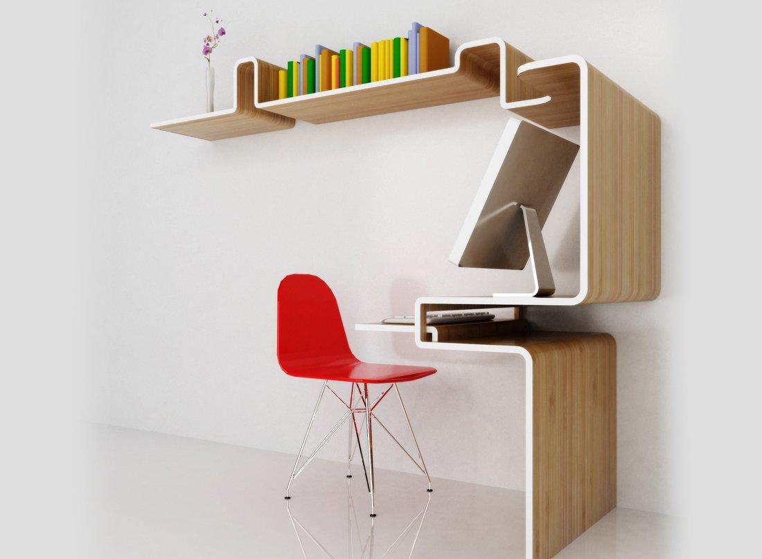 M dulo de despacho k workstation de misosoupdesign for Ideas para el hogar espacios pequenos