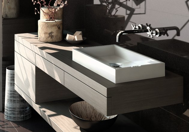 Dise os de cuartos de ba o silestone decoraci n del hogar - Silestone en banos ...