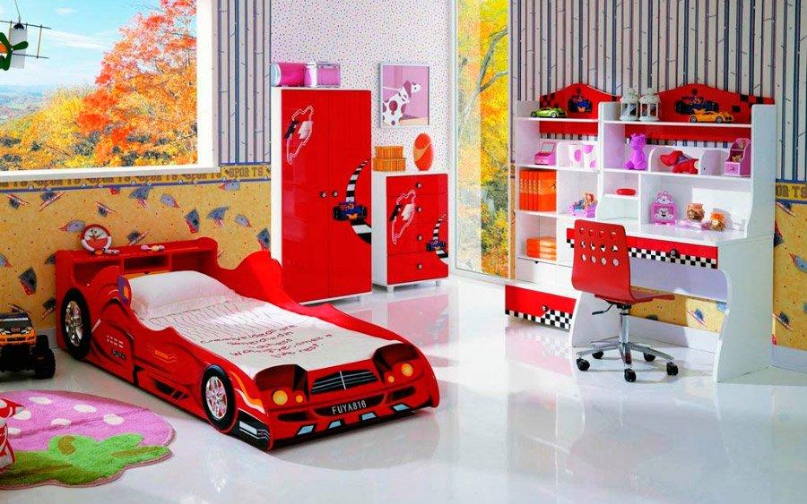 Dormitorios infantiles ideas llenas de color decoraci n - Dormitorios infantiles tematicos ...