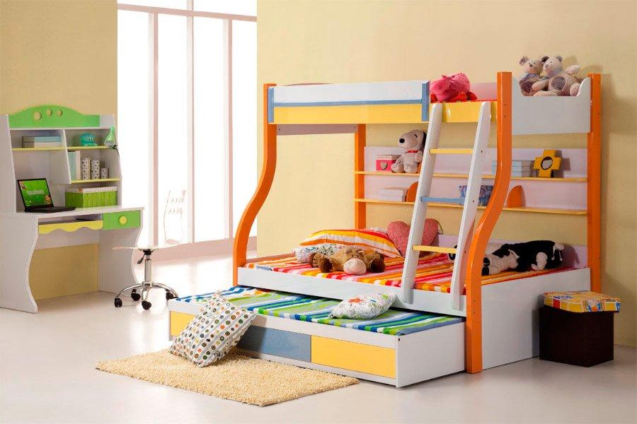 Dormitorios infantiles ideas llenas de color decoraci n - Colores para dormitorios infantiles ...