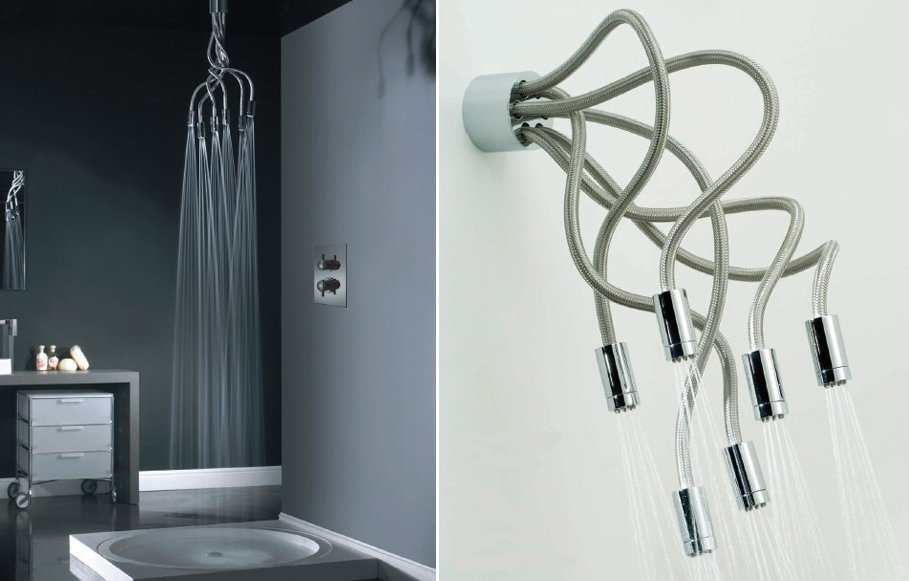 Baños Con Duchas Pequenas:Adjustable Shower Head