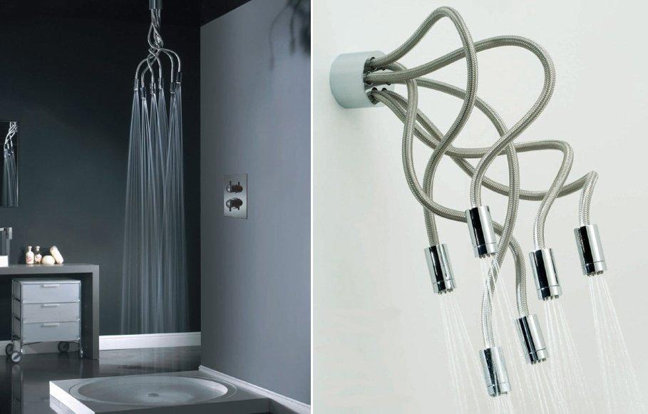 Duchas originales para cuartos de ba o modernos decoraci n del hogar - Duchas pequenas ...