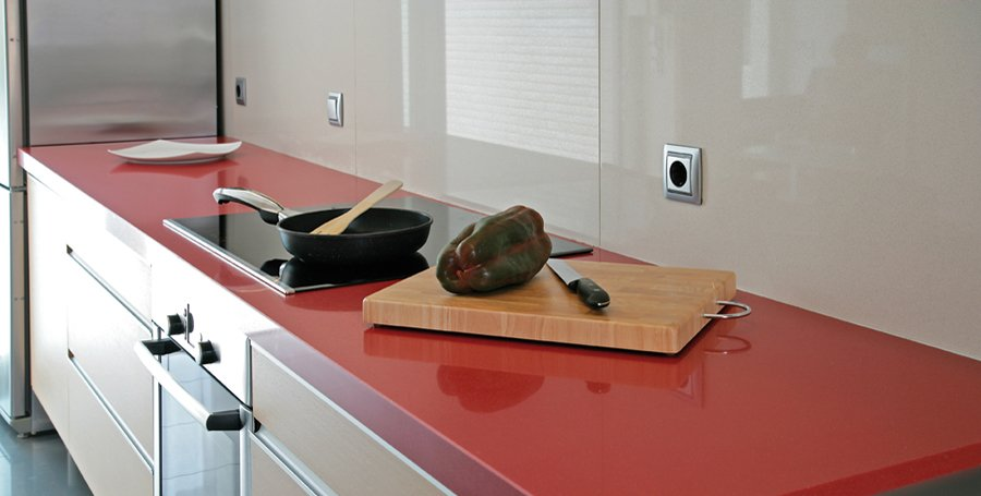 Encimeras compac para la cocina decoraci n del hogar - Plan de travail de couleur ...