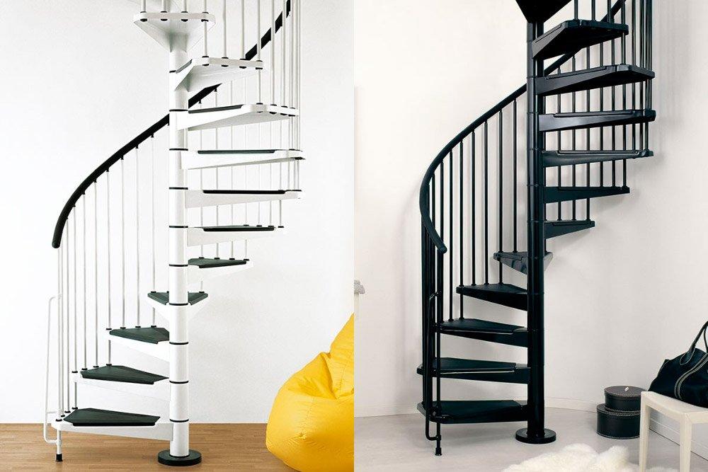 Escaleras De Caracol Ideales Para Duplex Sin Espacio Decoracion - Escaleras-de-caracol