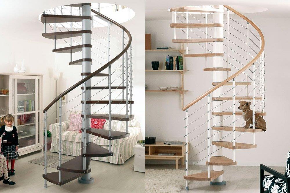 Escaleras de caracol ideales para d plex sin espacio for Escaleras de duplex