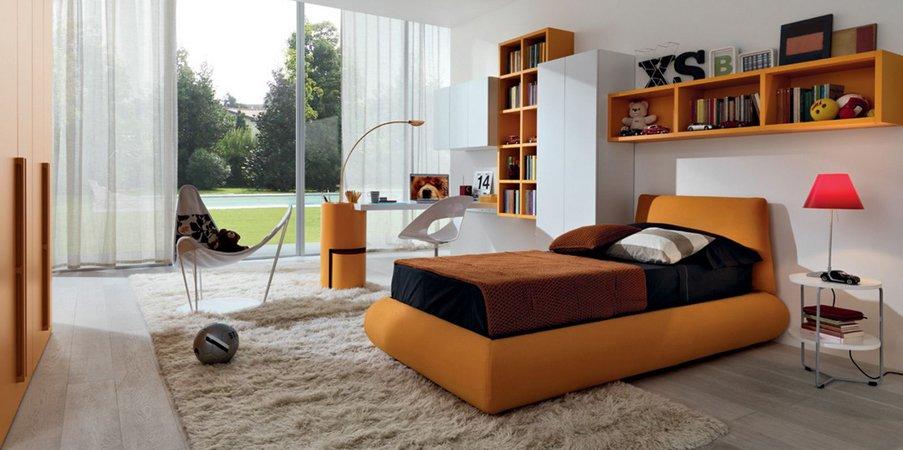 Estimula tu decoraci n con el color naranja decoraci n for Decoracion de cuartos adultos