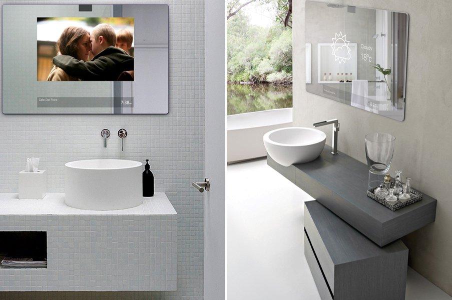 Espejo de ba o futurista 2 0 decoraci n del hogar - Espejo de banos ...