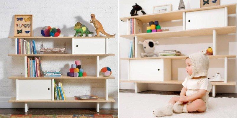 Estanter as infantiles originales decoraci n del hogar - Estanterias guardar juguetes ...