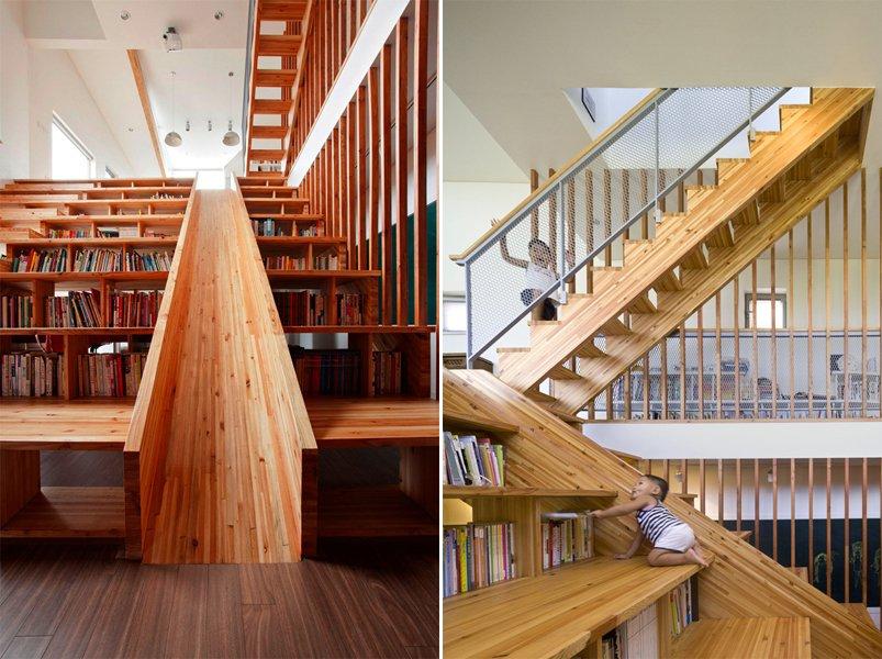 Decoracion De Baños Humildes:Estantería Library Slide Decoración del hogar