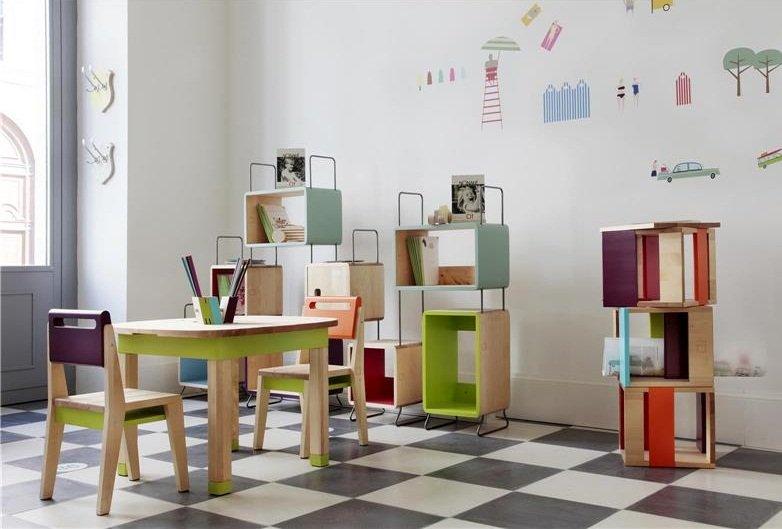 Estanter as infantiles originales decoraci n del hogar - Estanterias para habitaciones infantiles ...