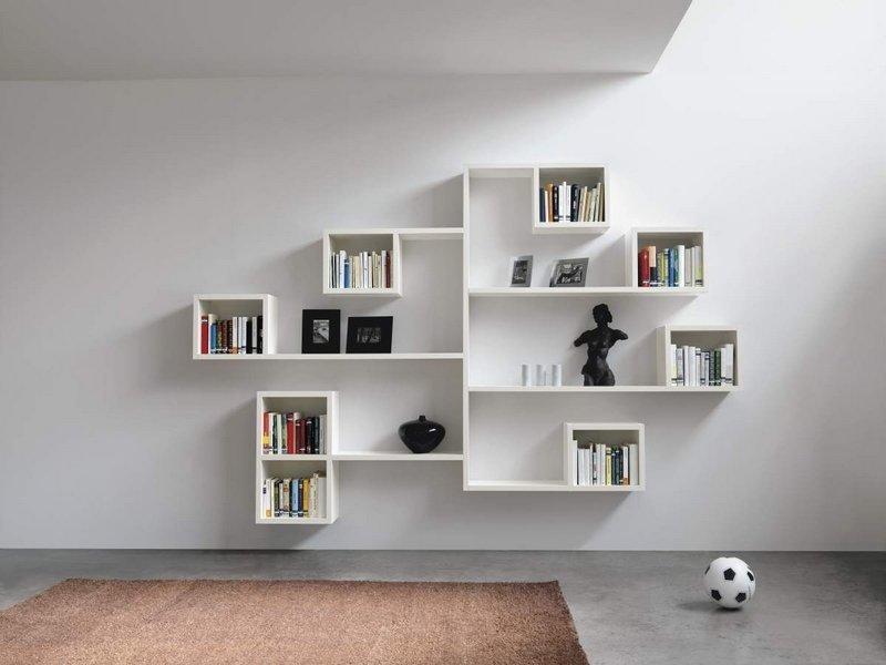 Modern Floating Shelves Decorating Ideas: Estanterías Modernas Lago. Decoración Del Hogar
