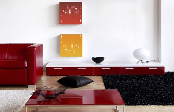 decoracin de estilo moderno cuadros adn de helys
