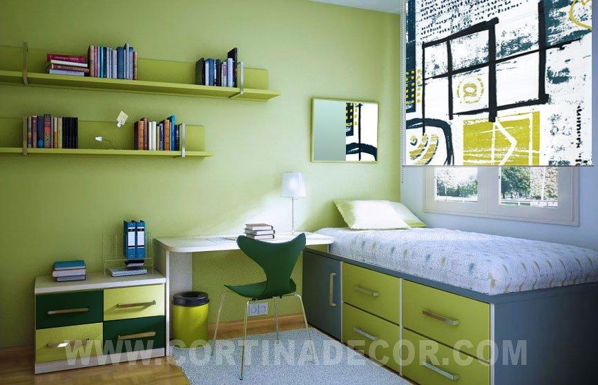 Cortinas de habitacion juvenil vienen cortinas opacas - Cortinas dormitorio juvenil ...