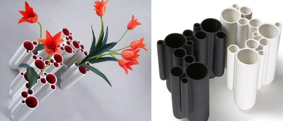 Цветы своими руками из труб пвх