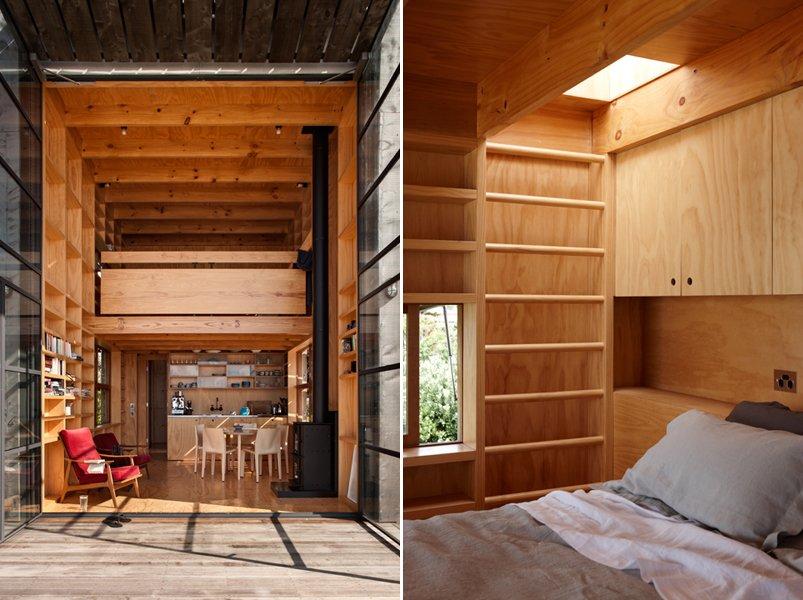 Vivir en el paraíso en tan solo 40 m2. decoración del hogar.