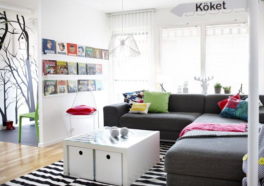 Estilo escandinavo decoraci n del hogar - Muebles estilo escandinavo ...
