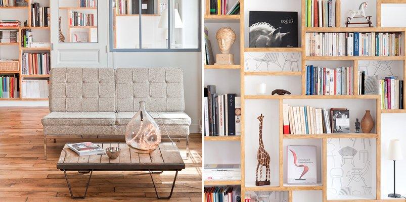 Loft parisino minimalista de 60 m2 decoraci n del hogar for Decoracion de loft pequenos