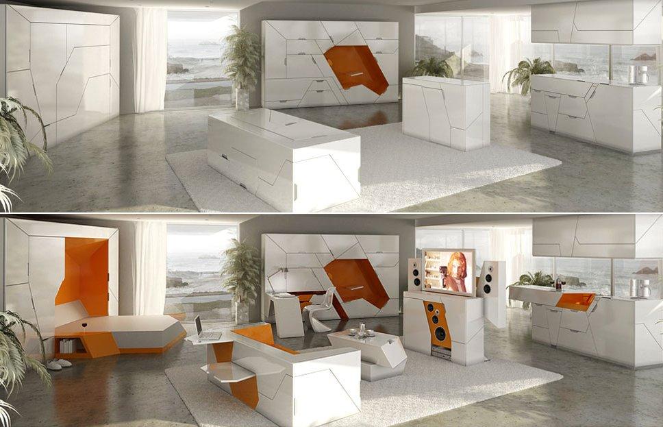 Funcionales y minimalistas muebles boxetti decoraci n del for Muebles funcionales